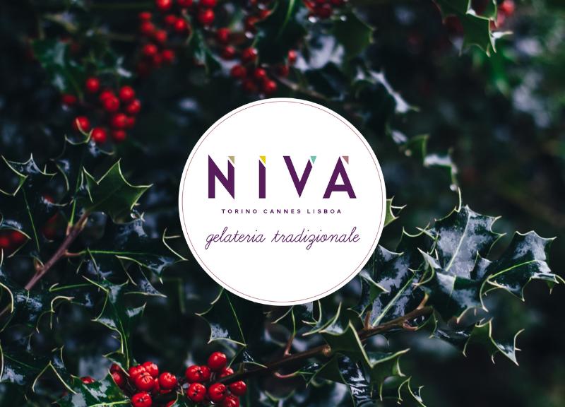 Sweet Christmas.Buon Natale E Buon Anno Niva Gelateria Tradizionale